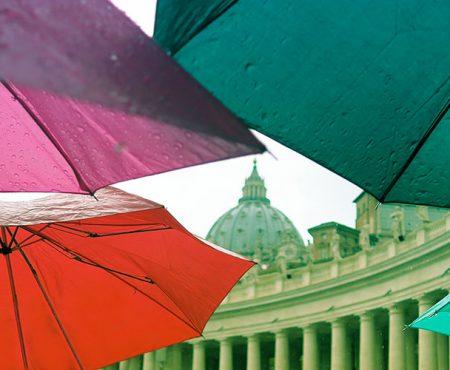 Niespodziewana pogoda w Rzymie