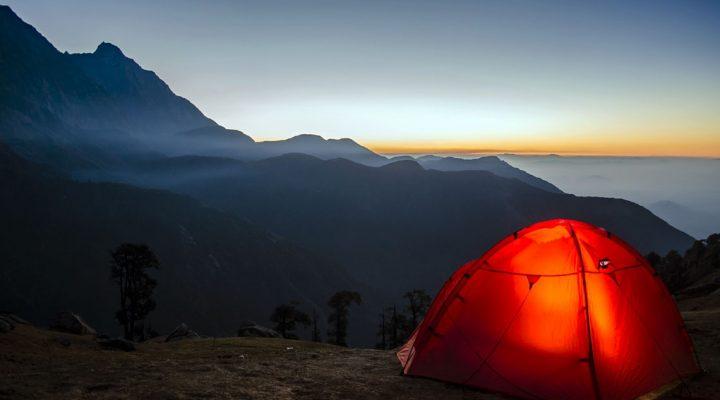 Jak przetrwać pod namiotem w Norwegii
